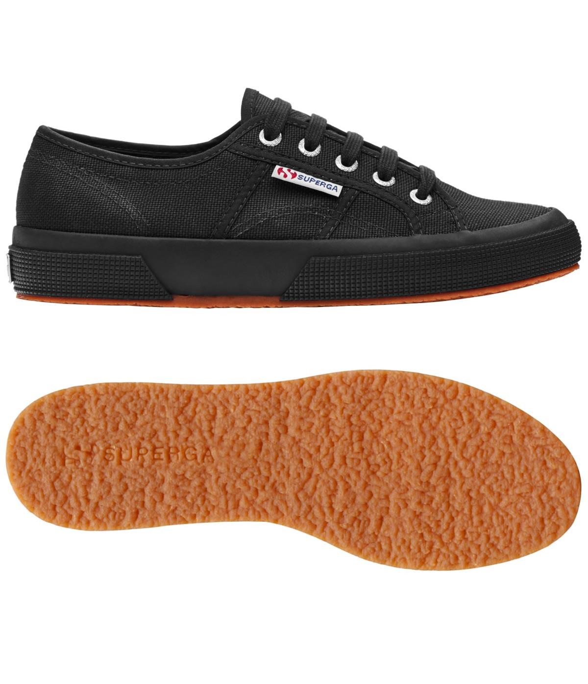 Comprar Zapatillas Superga negras 2750. Outlet Superga c37118c2317