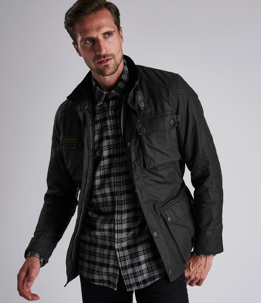 Chaqueta Barbour hombre Blackwell