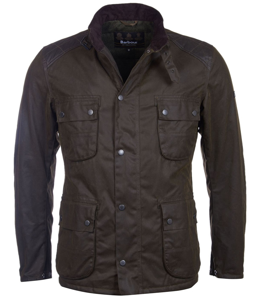 Chaqueta Barbour hombre Weir Wax