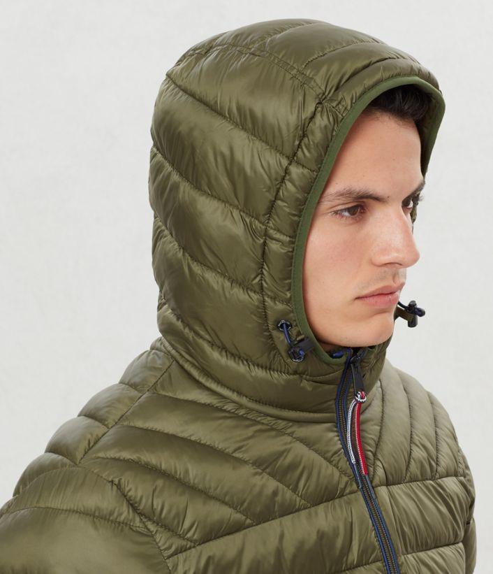 Chaqueta acolchada Aerons Hood verde