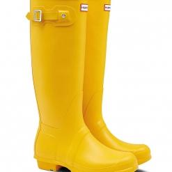 Botas Hunter amarillas