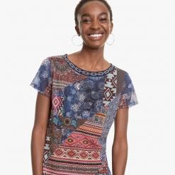 Camiseta Desigual patchwork Lucia