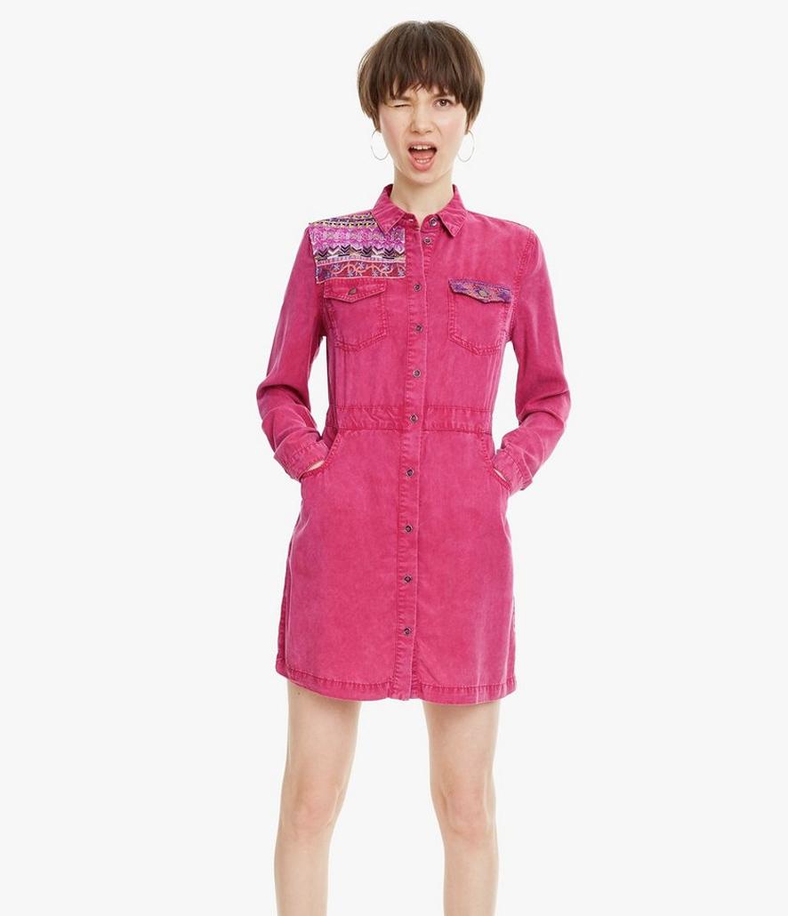 Vestido Desigual ablusado Zagori