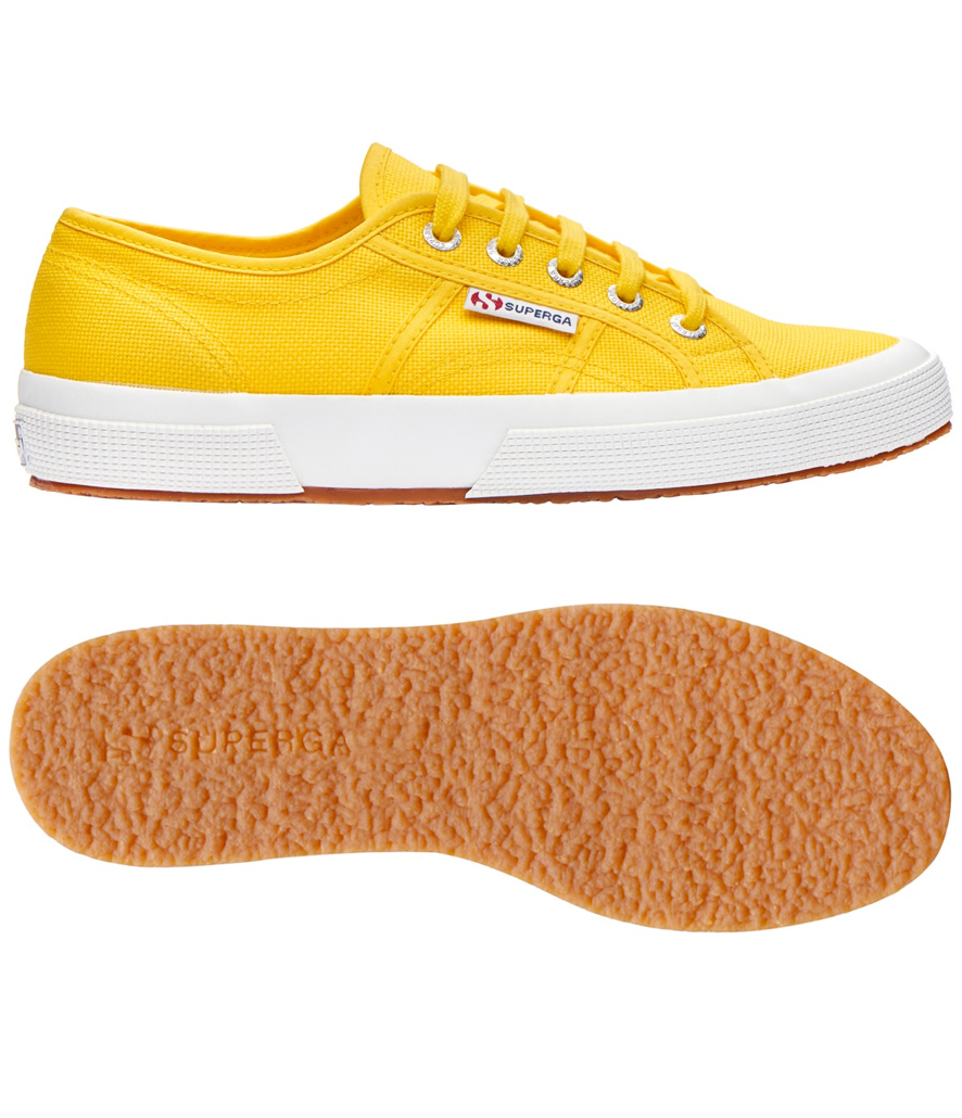 Zapatillas Superga classic amarillo