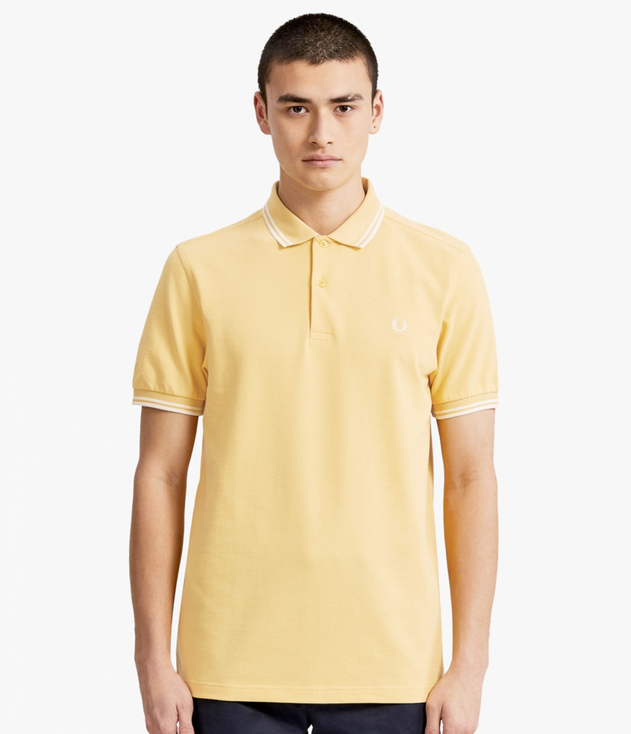Polo Fred Perry amarillo M3600