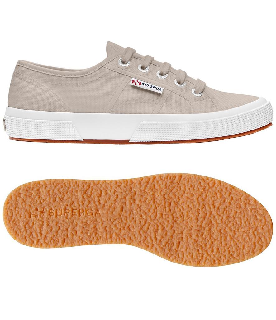 Zapatillas Superga classic beige tierra