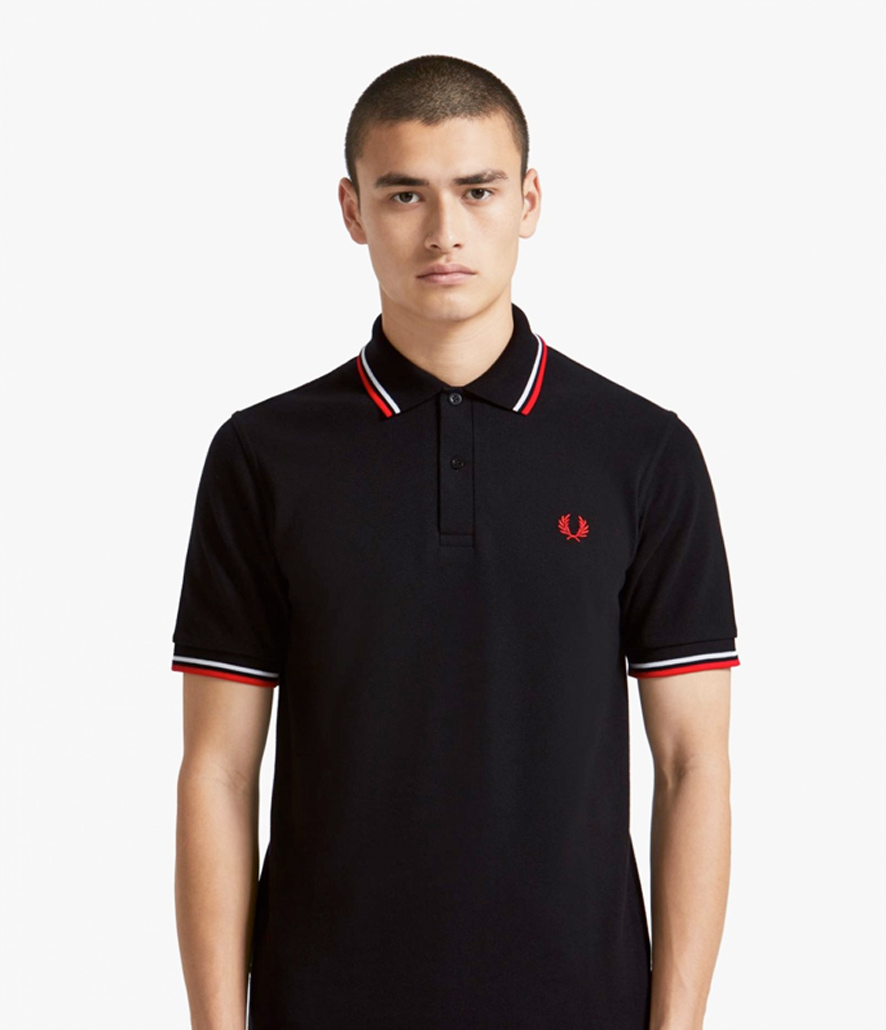 Polo Fred Perry azul marino M3600