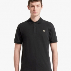 Polo Fred Perry negro M3600