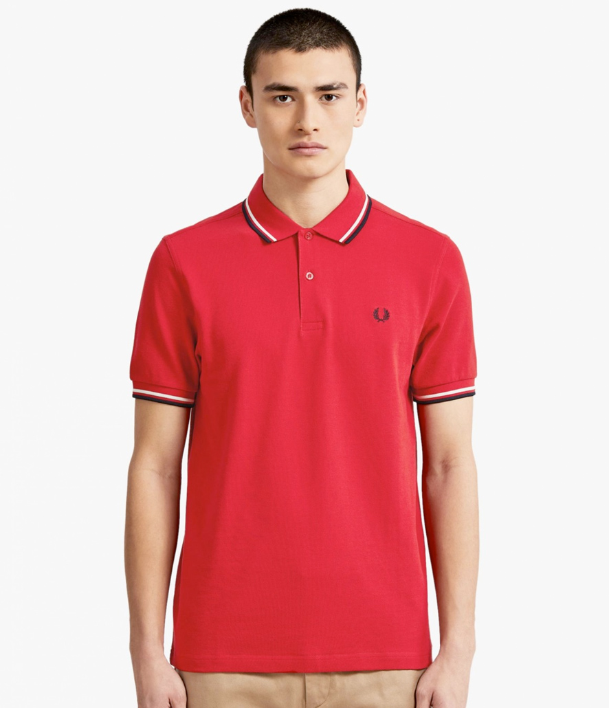 Polo Fred Perry rojo M3600