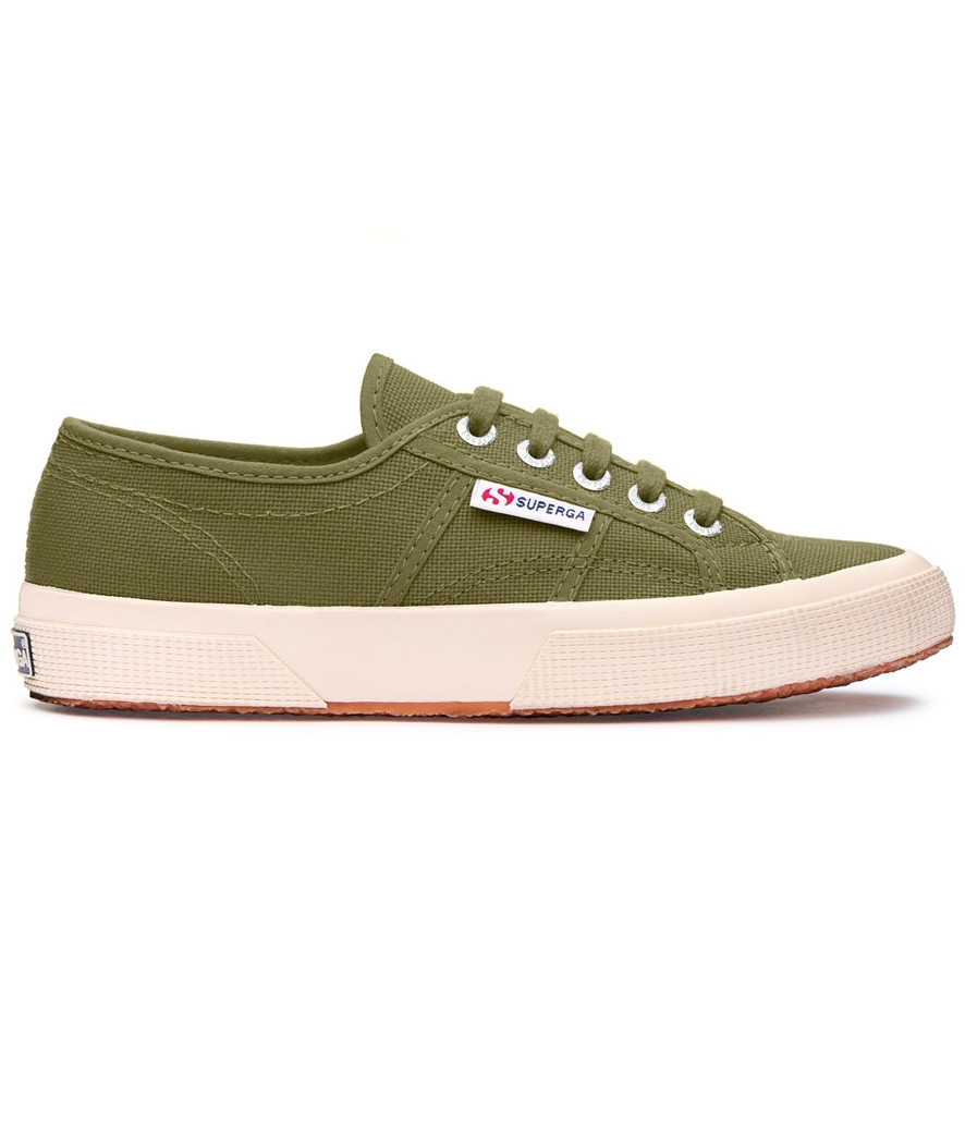 Zapatillas Superga classic verde oliva