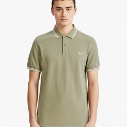 Polo Fred Perry verde M3600