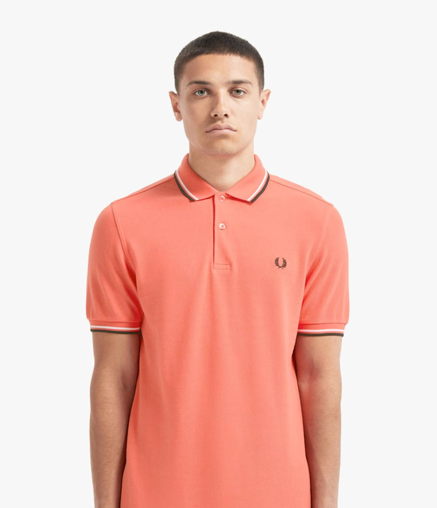 Polo Fred Perry rojo tropical M3600
