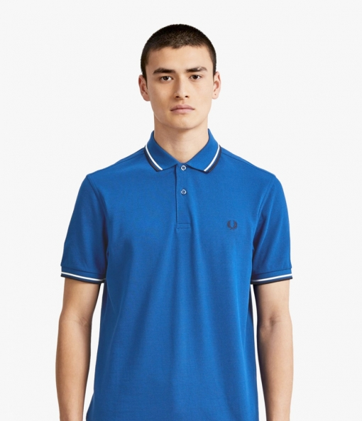 Polo Fred Perry azul M3600