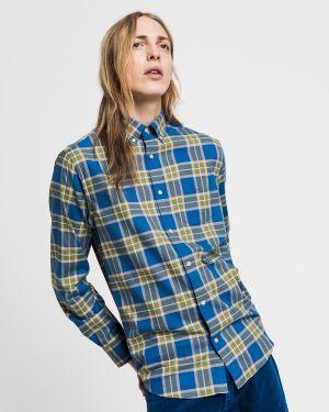 GANT Camisa De Cuadros Regular Fit Winter Twill