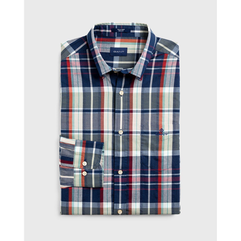GANT Camisa Regular Fit Tech Prep