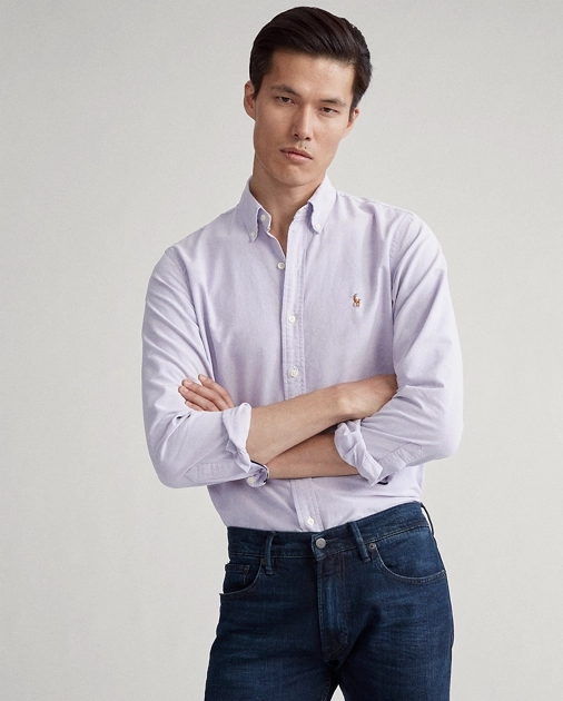 Camisa Oxford Ralph Lauren Custom Fit