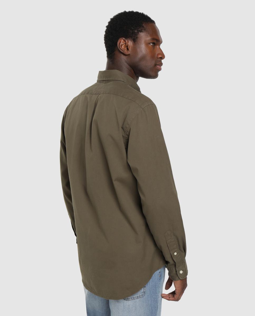 Camisa Polo Ralph Lauren Lisa verde kaki