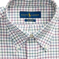 Camisa Ralph Lauren De Cuadros Multicolor