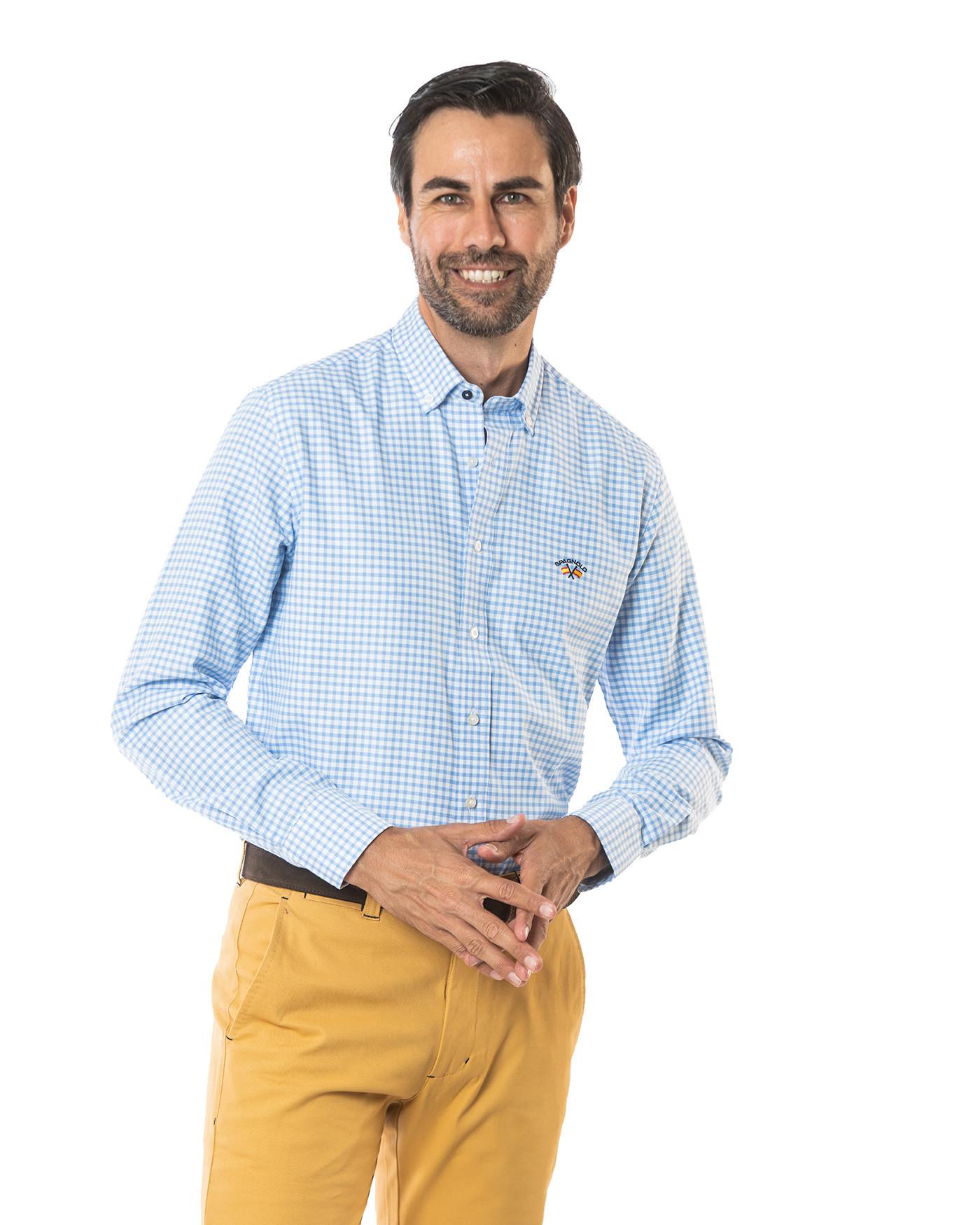 Camisa básica cuadros Spagnolo