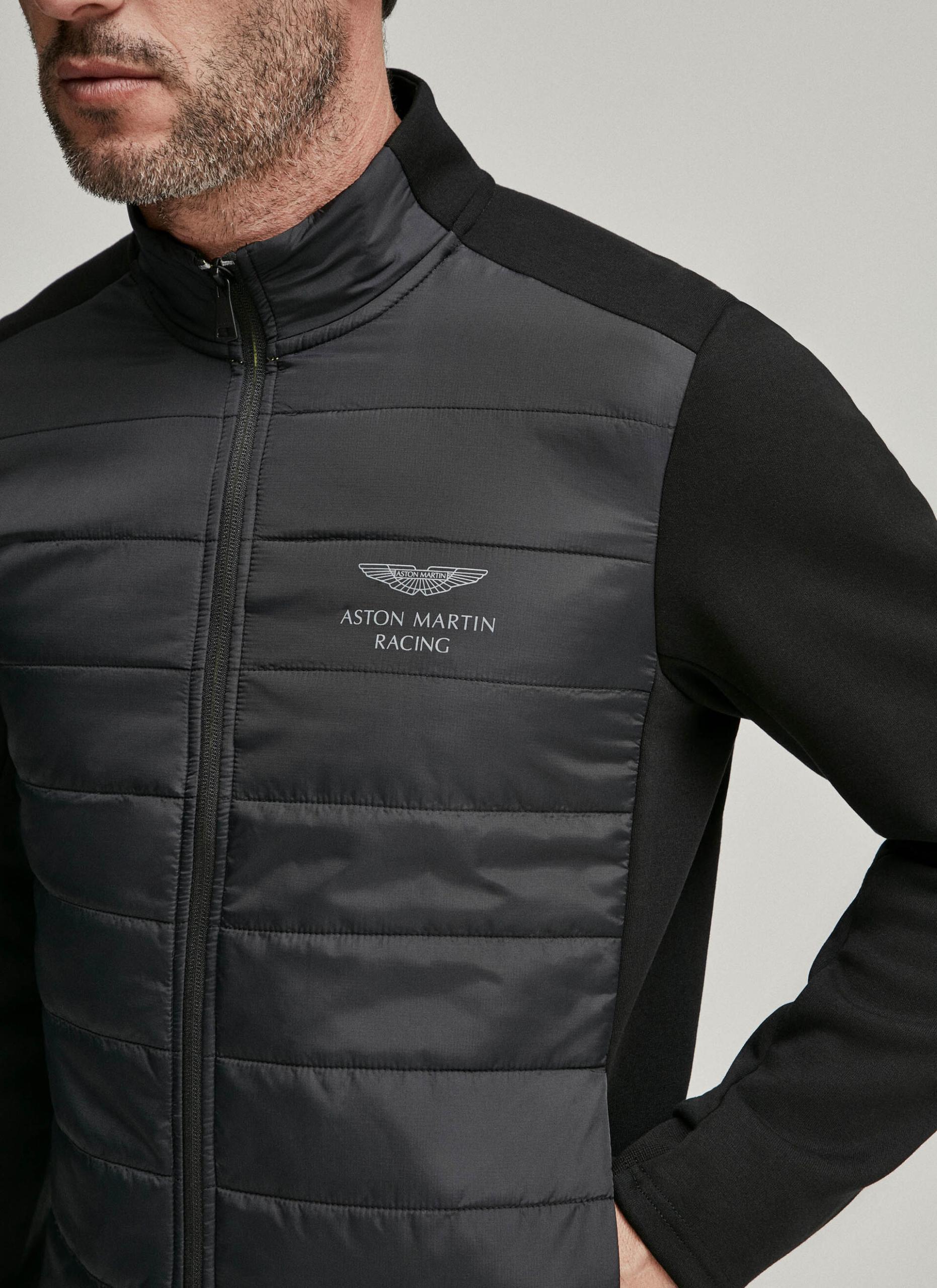 Chaqueta Acolchada Aston Martin