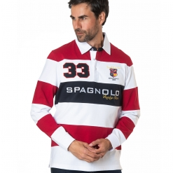 Polo rayas rugby Spagnolo