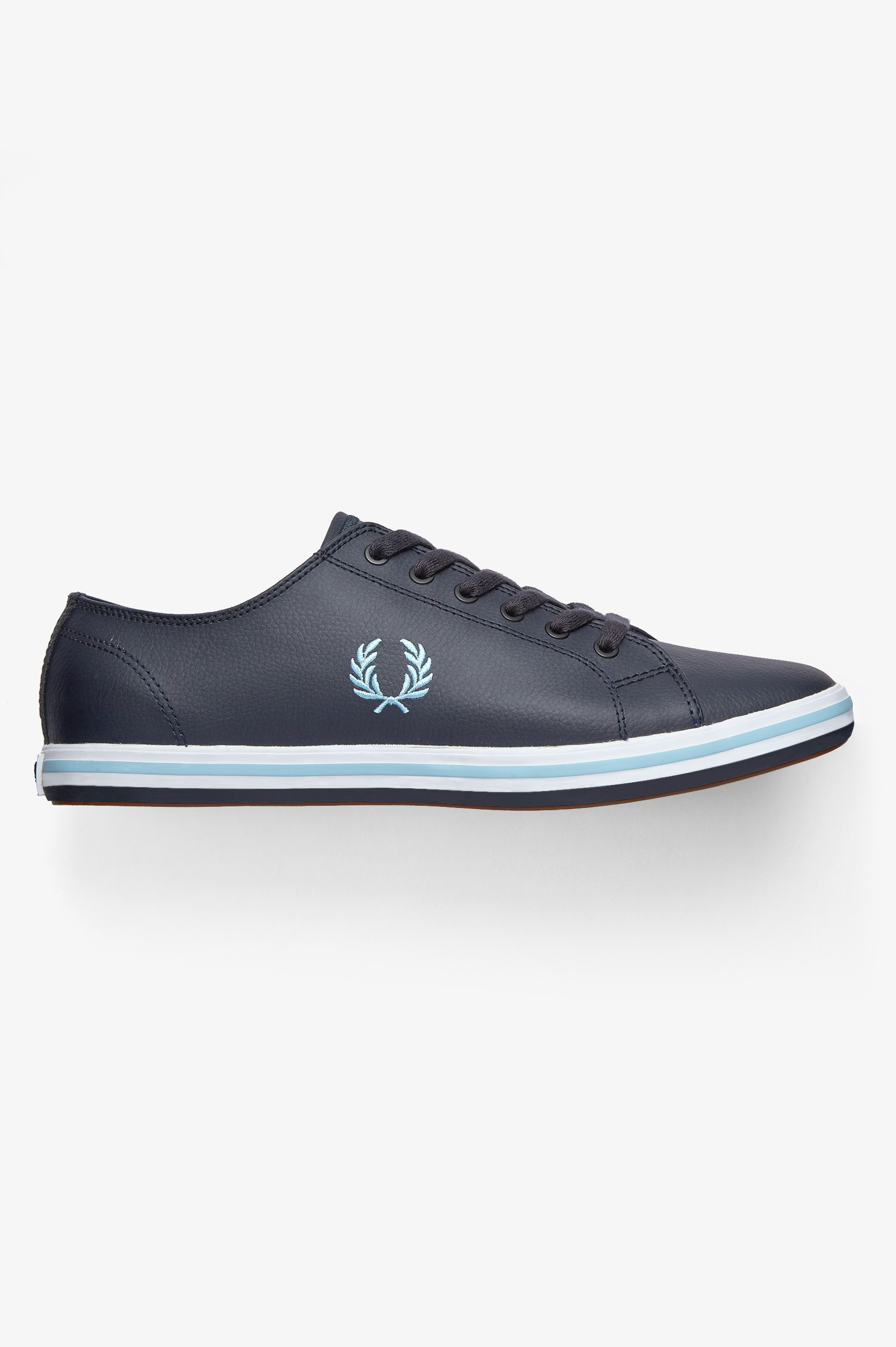 Zapatillas Fred Perry azul marino de Piel Kingston