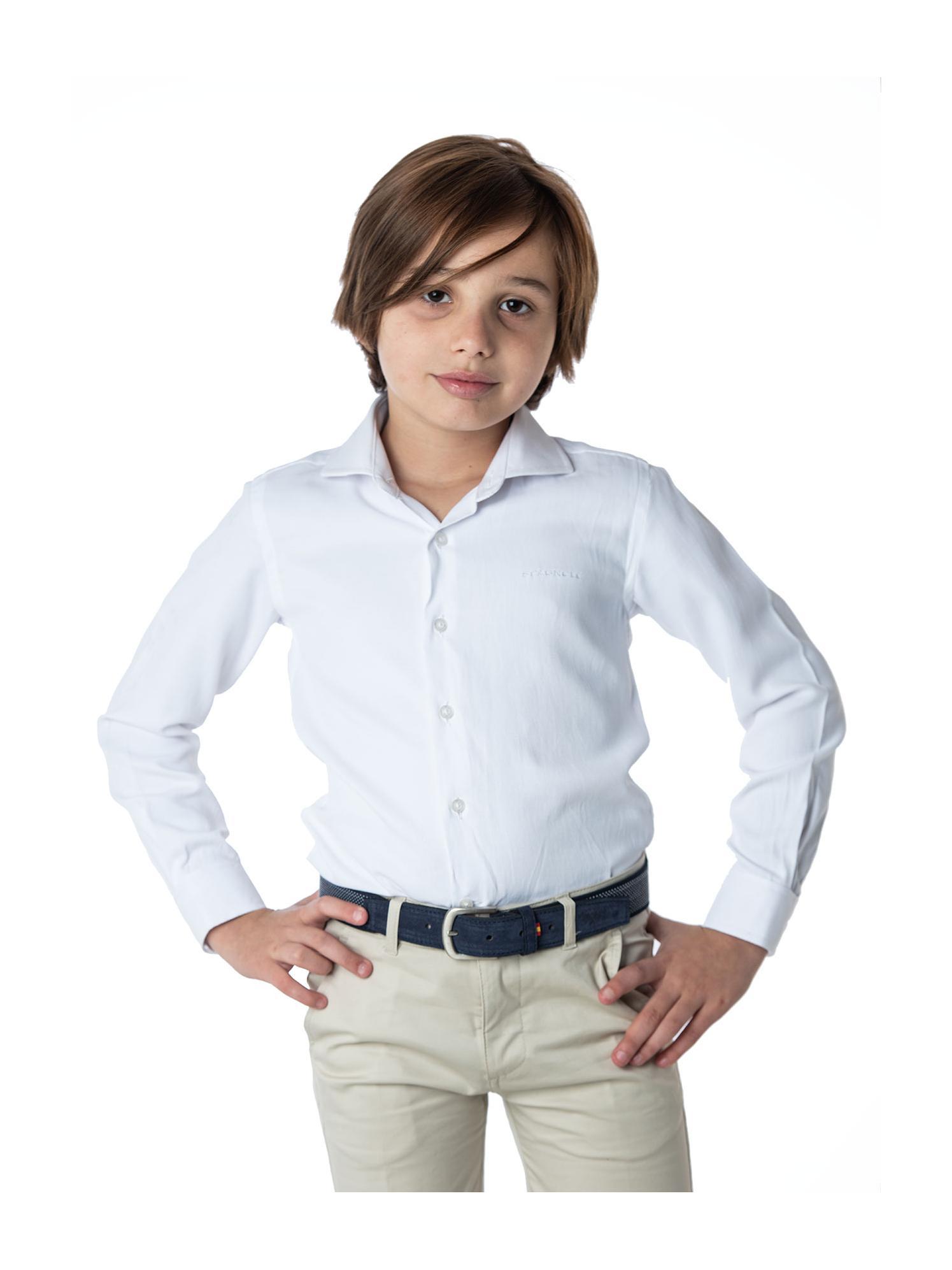 Camisa cuello Dobby Spagnolo