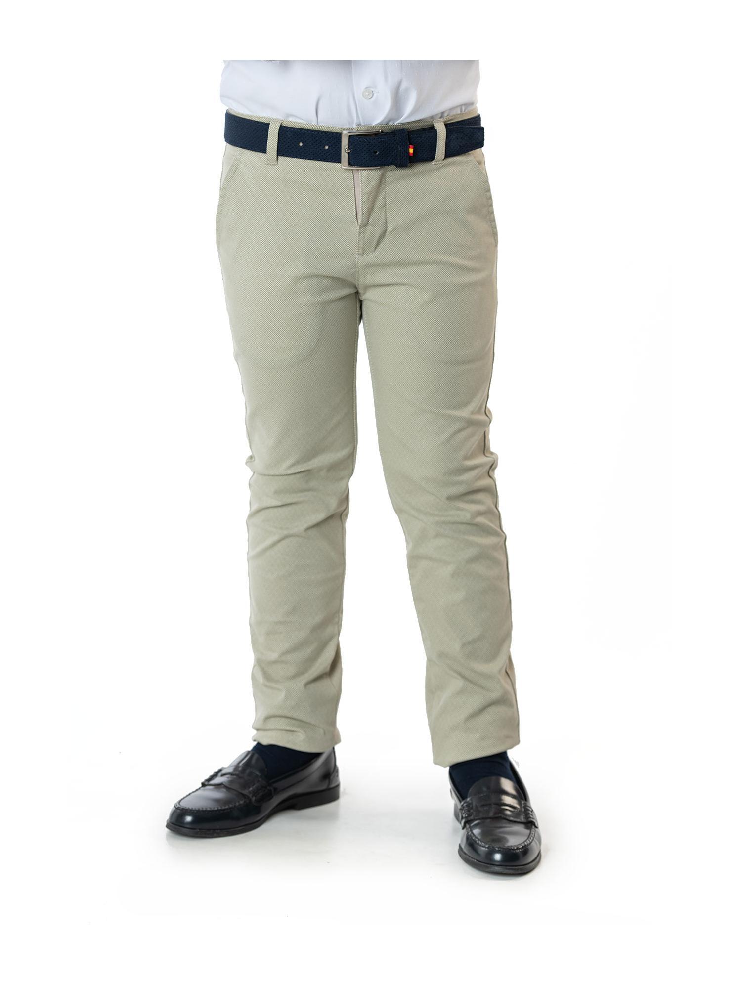 Pantalones chinos estampados Spagnolo