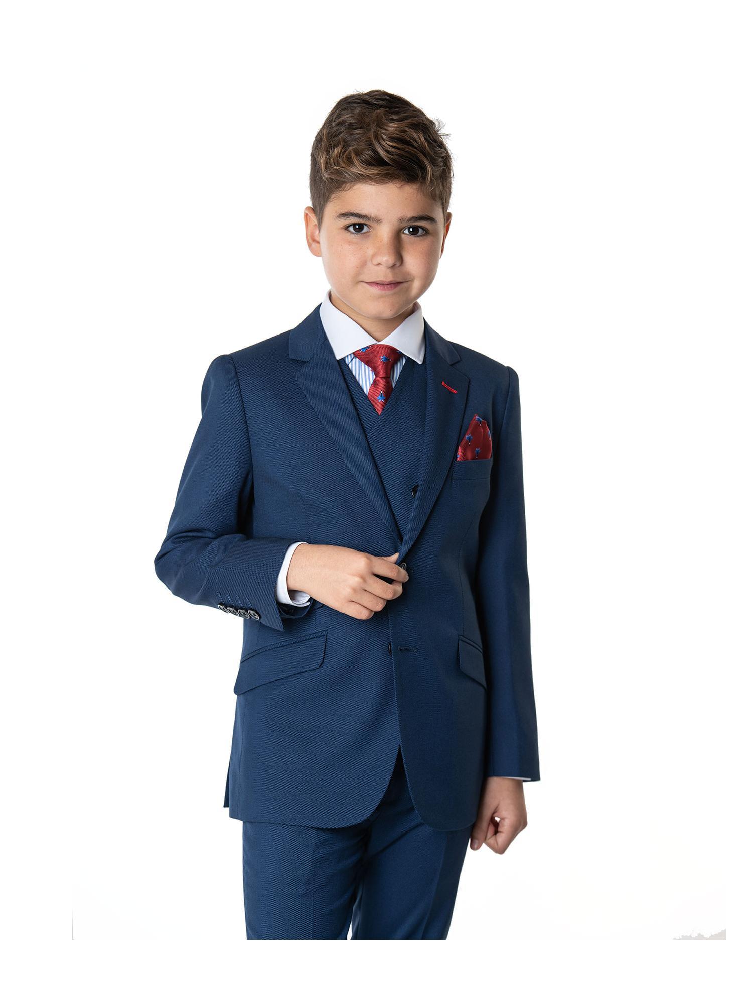Americana azul Spagnolo niño