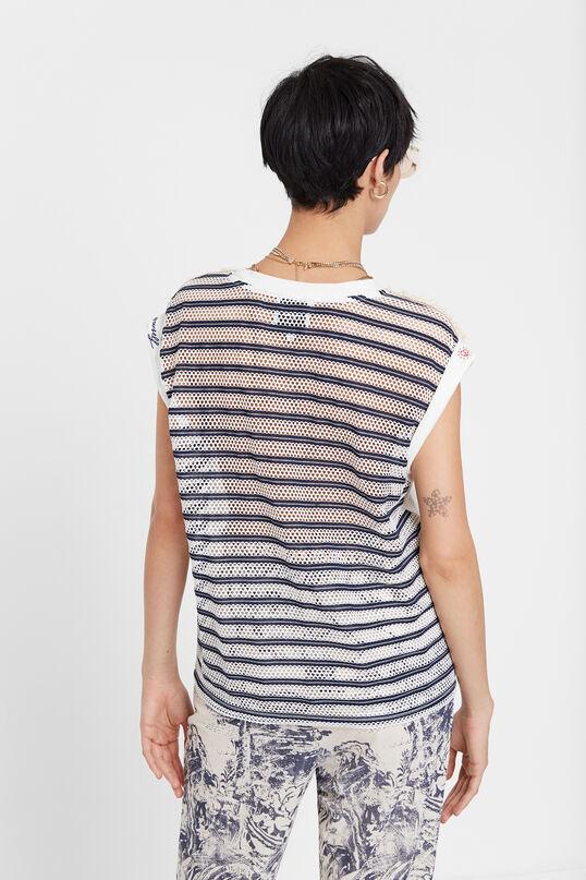 Camiseta marinera troquelada Desigual