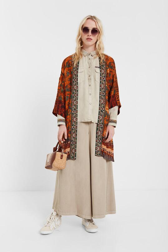Kimono inspiración safari Desigual