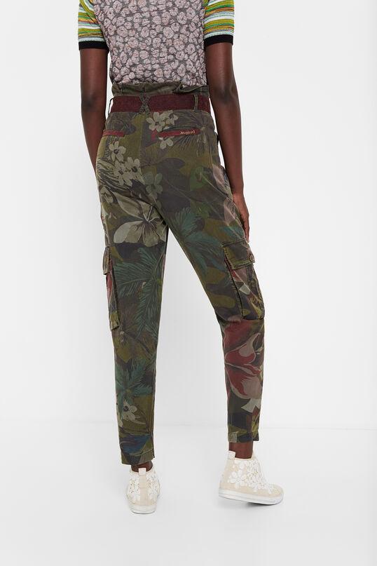 Pantalón cargo floral Desigual