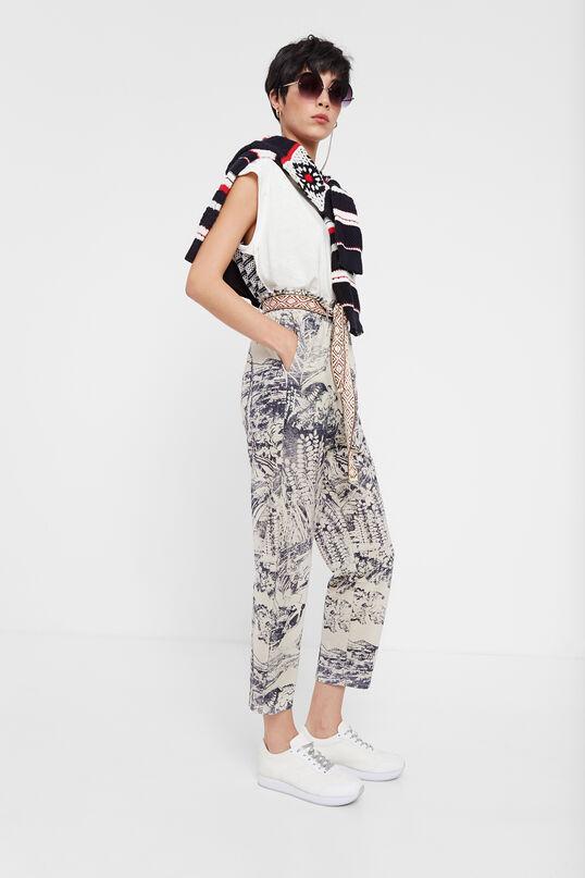Pantalón japonés tobillero Desigual
