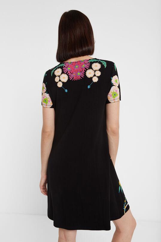 Vestido camisetero floral Desigual