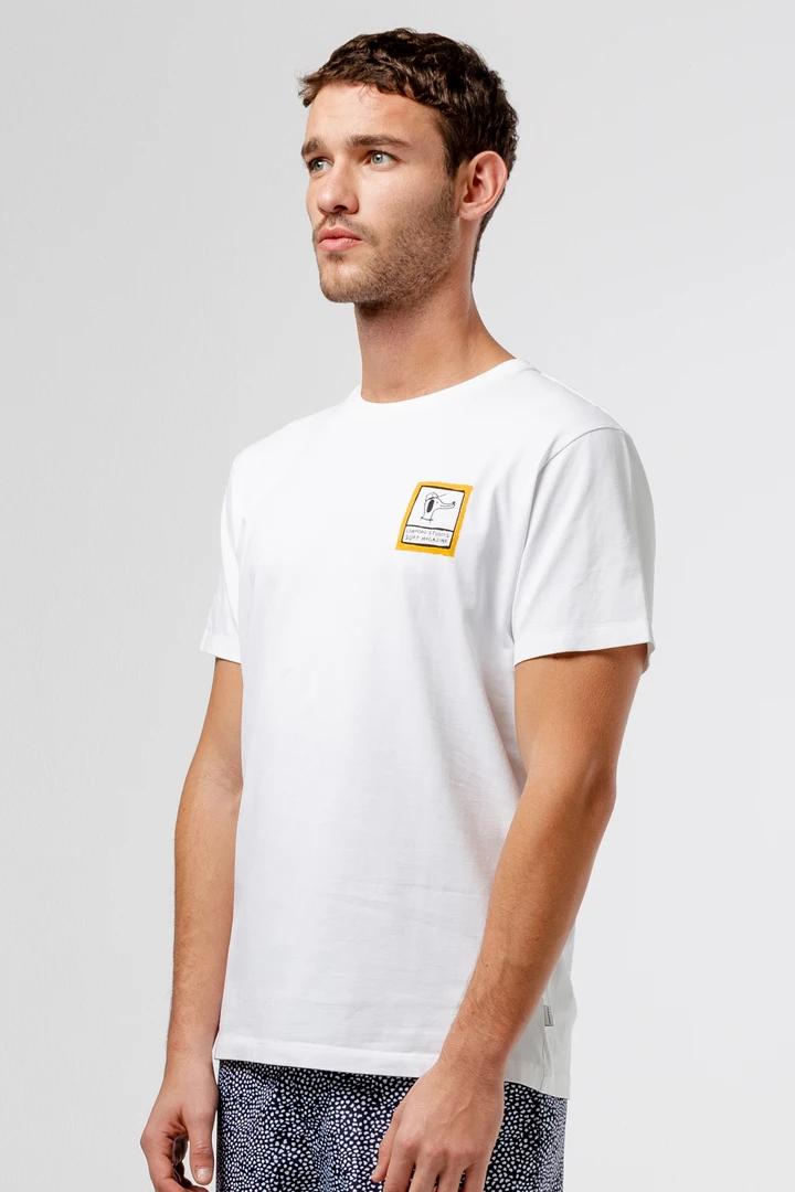 Camiseta blanca Sebastien edmmond