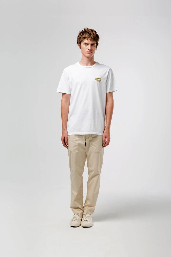 Camiseta blanca vie simple handstand edmmond