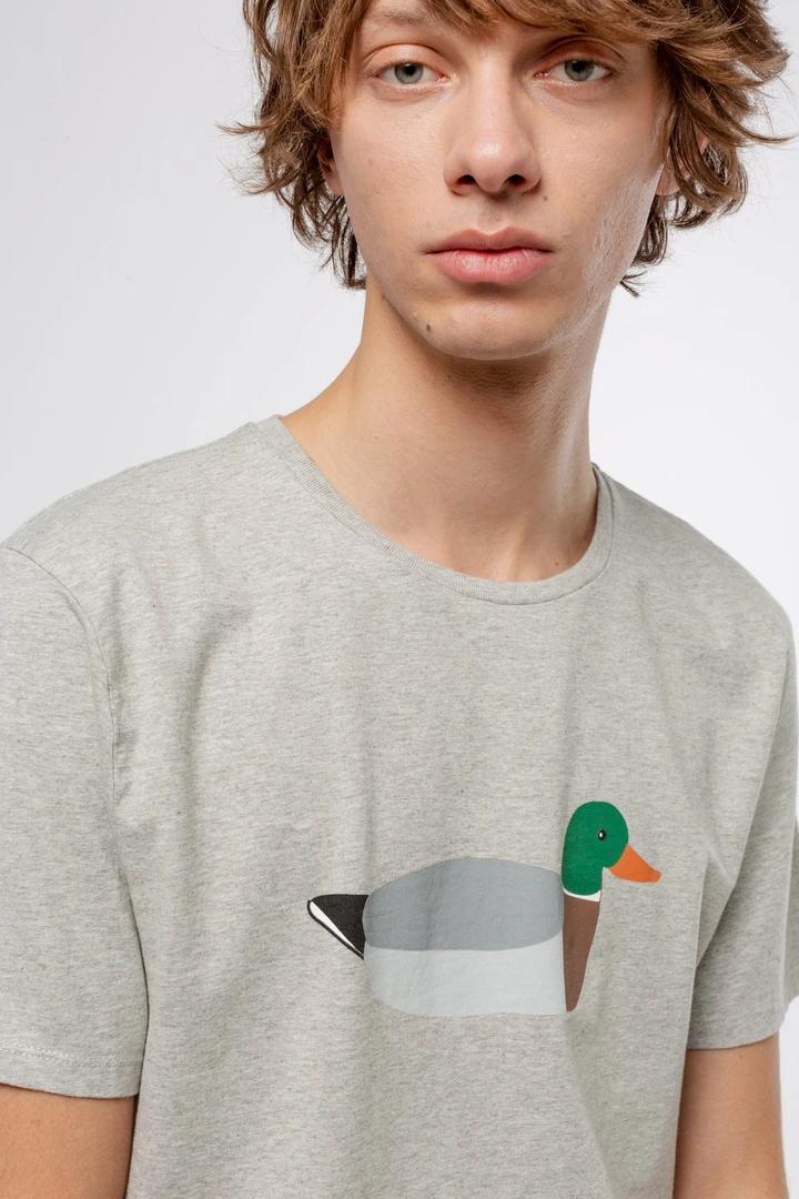 Camiseta gris duck hunt edmmond