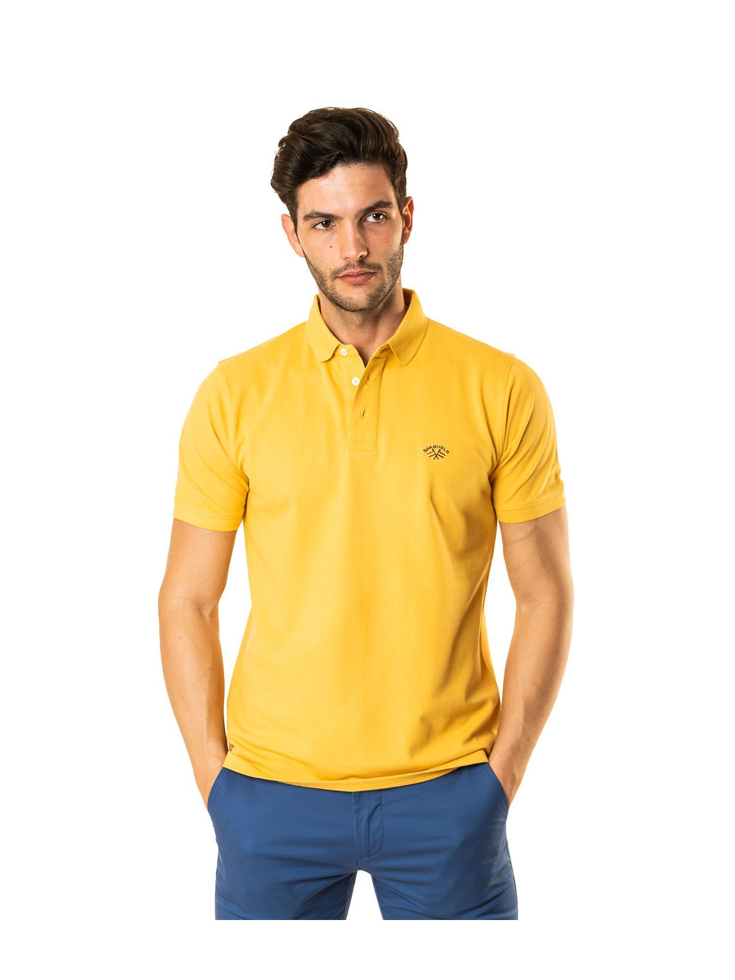 Polo básico amarillo Spagnolo
