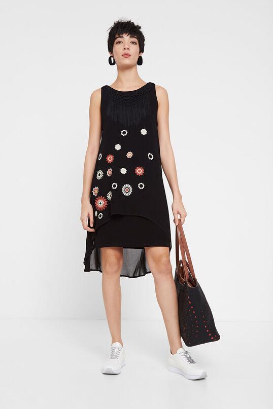Vestido de doble capa DESIGUAL