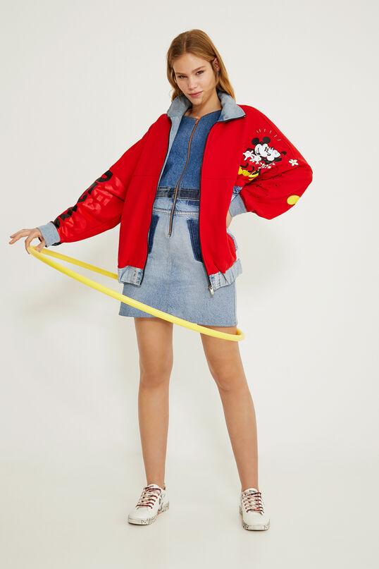 Abrigo Mickey Mouse rojo