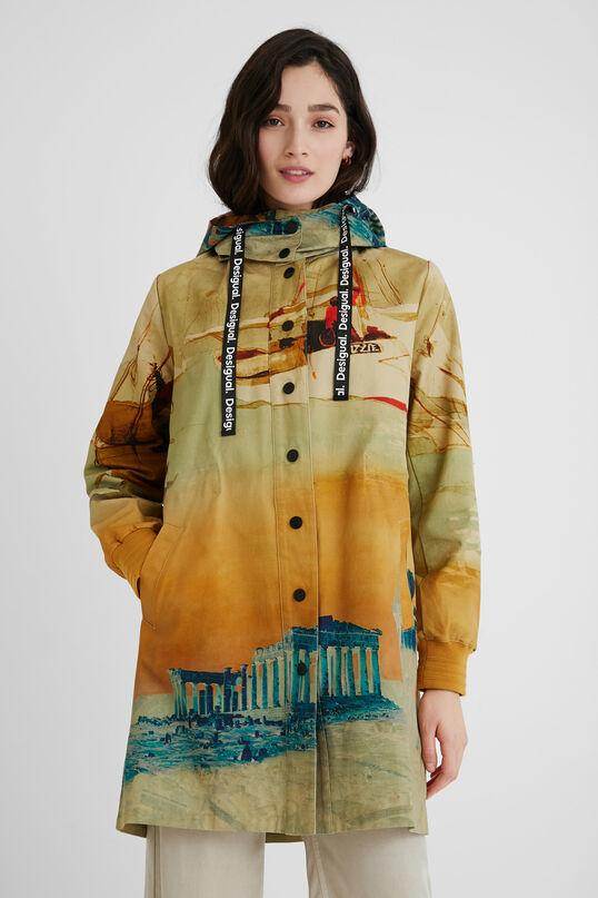 Parka capucha 100% algodón