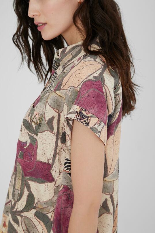 Camisa tencel safari